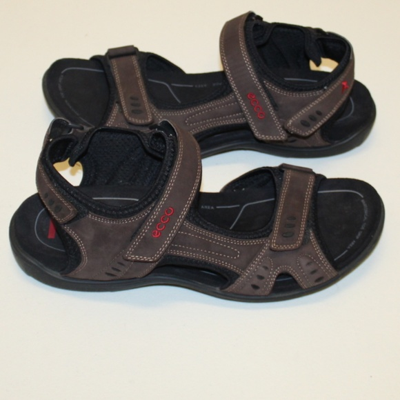 cheap price low price best wholesaler Ecco Walking Hiking Sandals Arch Support Men 46/12